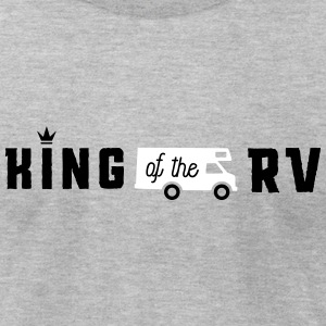 Camping king of the rv T-Shirts - Men's T-Shirt by American Apparel
