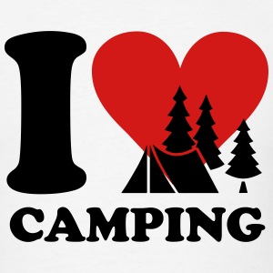 i love camping T-Shirts - Men's T-Shirt