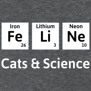 Cats and Science womens t-shirt - Women's T-Shirt