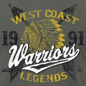 West Coast Warriors - Men's T-Shirt by American Apparel
