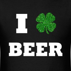 I Love Beer St. Patricks T-Shirts
