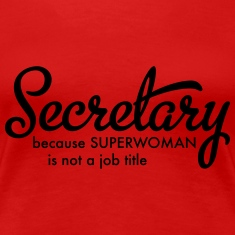 secretary Women's T-Shirts