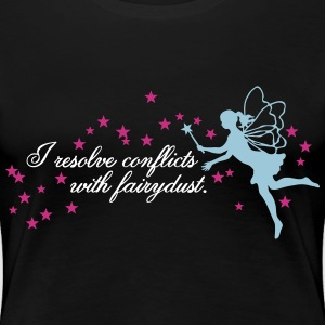 Resolving Conflicts With Fairydust 3C Women's T-Shirts - Women's Premium T-Shirt