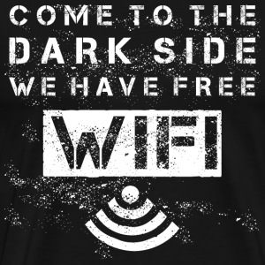 Come To The Dark Side - white T-Shirts - Men's Premium T-Shirt