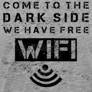 Come To The Dark Side - black T-Shirts - Men's Premium T-Shirt