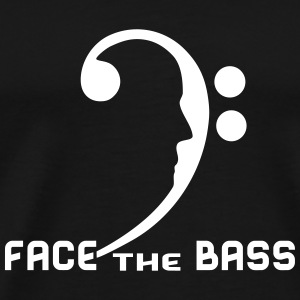 Face The Bass T-Shirts - Men's Premium T-Shirt