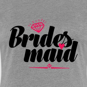 Cute Bridesmaid T-shirt for Bachelorette Party - Women's Premium T-Shirt