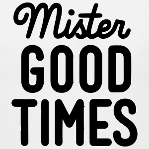 MISTER GOOD TIMES Women's T-Shirts - Women's V-Neck T-Shirt