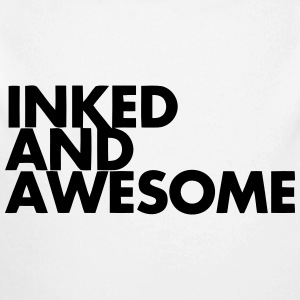 INKED AND AWESOME Baby Bodysuits - Long Sleeve Baby Bodysuit