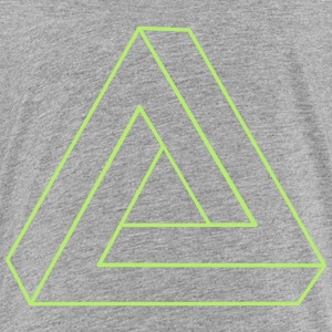 Impossible Triangle 3D Kids' Shirts - Kids' Premium T-Shirt