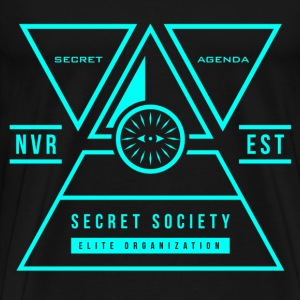 Secret Society T-Shirt  - Men's Premium T-Shirt
