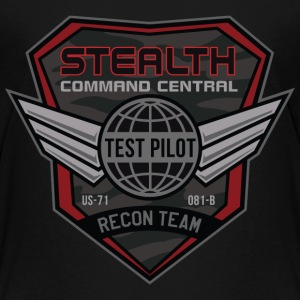 Stealth Test Pilot - Kids' Premium T-Shirt