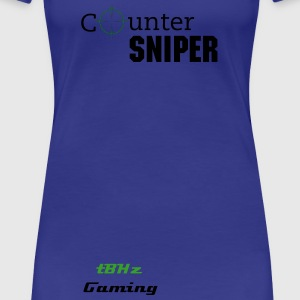 Sniper Counter Sniper - Women's Premium T-Shirt