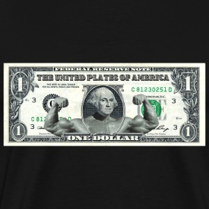 Swole George Washington T-Shirts - Men's Premium T-Shirt