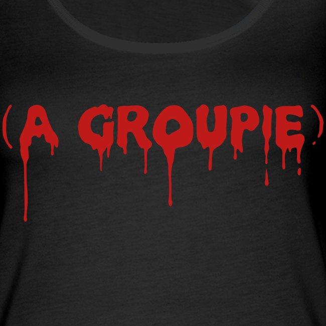 A Groupie - Glitter - Women's Premium Tank Top