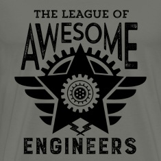 Cool Engineering T-shirt League Awesome Engineers