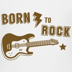 Born To Rock Guitar Kids' Shirts - Kids' Premium T-Shirt