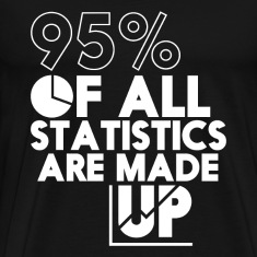 Funny T-shirt Statistics Are Made Up