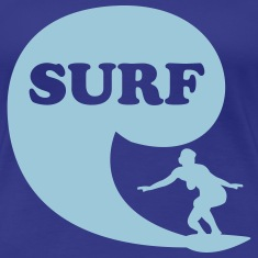 Surfin' Bird - surf Women's T-Shirts