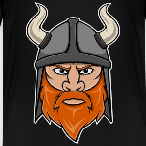 Viking Warrior Head Kids' Shirts - Kids' Premium T-Shirt