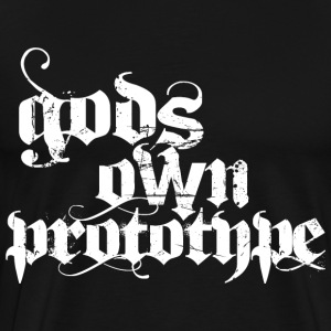 Gods Own Prototype - white T-Shirts - Men's Premium T-Shirt