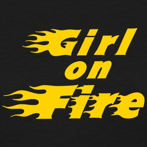 Girl On Fire Women's T-Shirts - Women's T-Shirt
