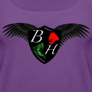 half wing Tanks - Women's Premium Tank Top
