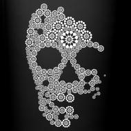 Design ~ White Skull Mug