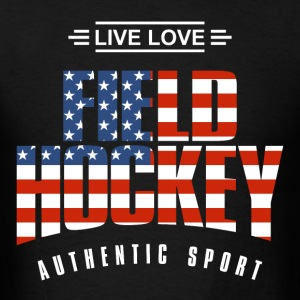 Live Love Field Hockey US - Men's T-Shirt