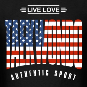 Live Love Taekwondo USA - Men's T-Shirt