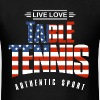 Live Love Table Tennis USA - Men's T-Shirt