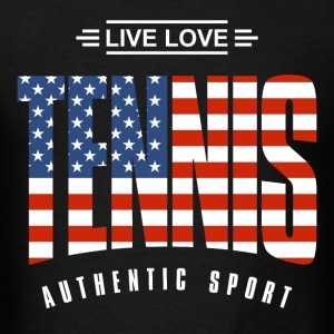 Live Love Tennis USA - Men's T-Shirt