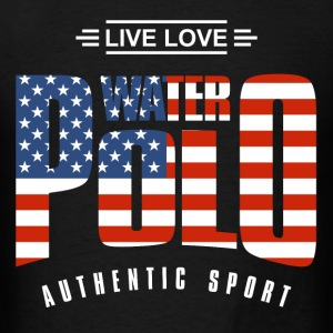 Live Love Water Polo USA - Men's T-Shirt