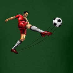 soccer player T-Shirts