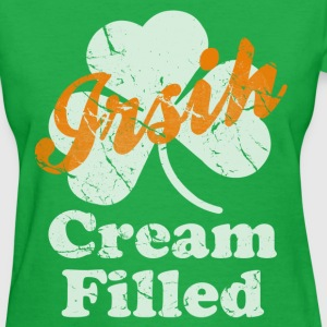 Irish Cream Filled St Patricks Day Women's T-Shirts - Women's T-Shirt