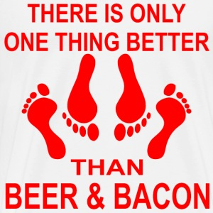 One Thing Better Than Beer & Bacon, Sex - Men's Premium T-Shirt