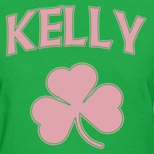 Kelly Irish Surname Shamrock. Women's T-Shirts - Women's T-Shirt