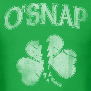 OSnap Irish Shamrock T-Shirts - Men's T-Shirt
