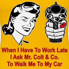 Work Late I Ask Mr. Colt To Walk Me To My Car