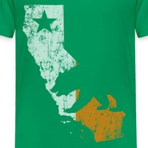 Cali Outline Ireland Flag Baby & Toddler Shirts - Toddler Premium T-Shirt