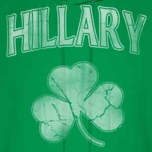Hillary Irish Shamrock Hoodies - Men's Hoodie