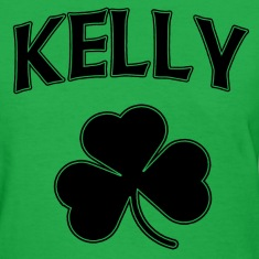 Kelly Irish Shamrock St Patricks Day Women's T-Shirts