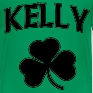 Kelly Irish Shamrock St Patricks Day Baby & Toddler Shirts - Toddler Premium T-Shirt