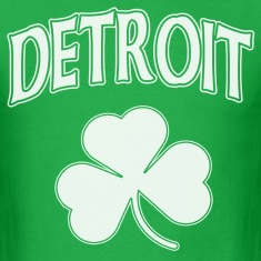 Detroit Irish Shamrock T-Shirts