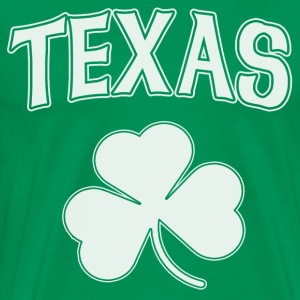 Texas Irish Shamrock T-Shirts - Men's Premium T-Shirt