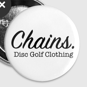 Chains Disc Golf Clothing Buttons - Small Buttons