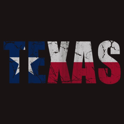 Texas Flag of Vintage