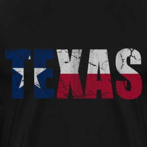Texas Flag of Vintage T-Shirts - Men's Premium T-Shirt