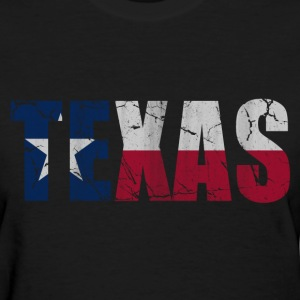 Texas Flag of Vintage Women's T-Shirts - Women's T-Shirt
