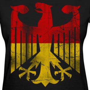 German Flag Eagle Vintage Women's T-Shirts - Women's T-Shirt